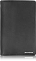 Porsche Design CL 2.0 Black Large Leather Travel Wallet w/Zip Pocket