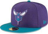New Era Charlotte Hornets 2 Tone Team 59FIFTY Cap