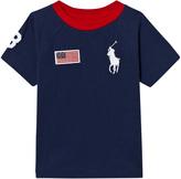 Ralph Lauren Navy and Red Big Pony T-Shirt