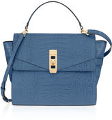 Henri Bendel Uptown Mini Croco Satchel