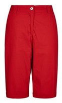Dorothy Perkins Womens Dp Tall Red Knee Short, Red