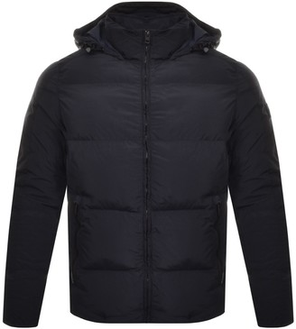 BOSS Casual Odenz Padded Jacket Navy