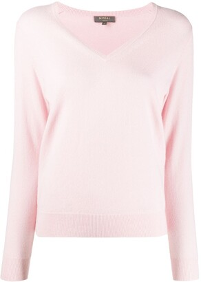 N.Peal V-neck cropped jumper