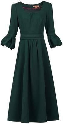 Dorothy Perkins Womens *Jolie Moi Green Bell Sleeve Midi Dress