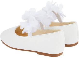 Monsoon Baby Girls Macaroon Walker Shoes - Ivory