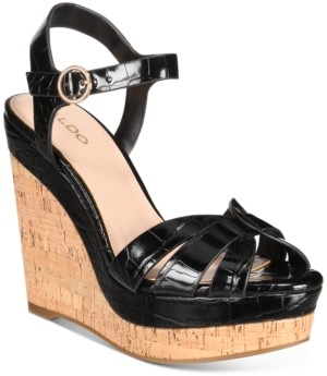 Aldo Women's Manglietia Wedge Sandals Women's Shoes