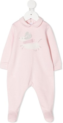 Il Gufo Texuted-Rabbit Cotton Pajama