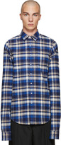 Vetements Blue Flannel Check Shirt