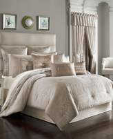 J Queen New York Wilmington Alabaster Queen Comforter Set