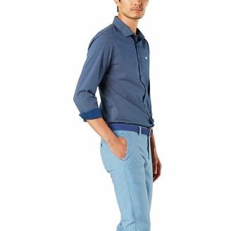 Dockers Long Sleeve Slim Poplin Woven Shirt