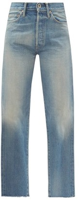 Chimala Cropped-cuff Straight-leg Denim Jeans - Light Denim