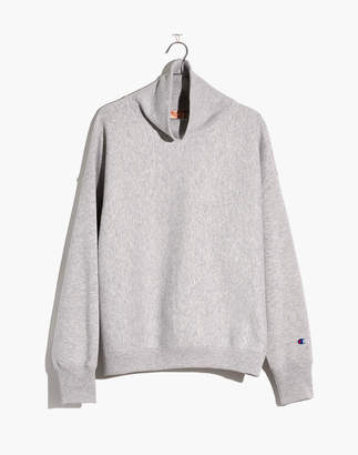 Madewell Champion Logo High-Neck Sweatshirt