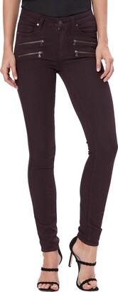 Paige Transcend - Edgemont High Waist Skinny Jeans