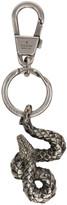 Gucci Silver Snake Keychain