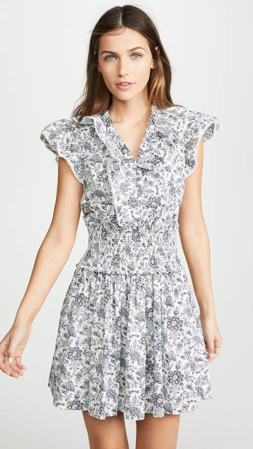 Rebecca Taylor Sleeveless Provencal Dress