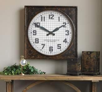 Pottery Barn Denali Wall Clock