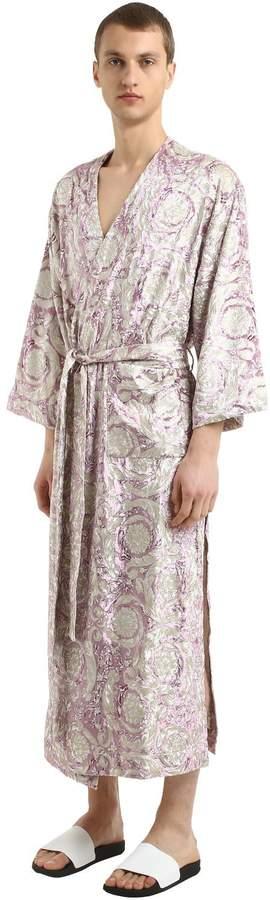 5e46c28f Bavelet Long Satin Robe