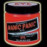 Manic Panic Pillarbox Red Hair Color #18