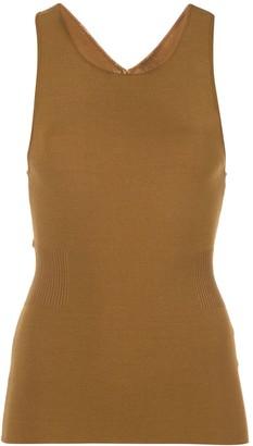 Proenza Schouler White Label Cut Out Detail Tank Top