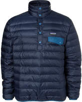 Patagonia - Snap-t Quilted Dwr-coated Ripstop Shell Down Pullover