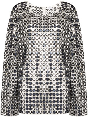 Ashish Oversized Sequinned Top