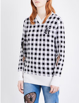 Christopher Kane Gingham wool and cashmere-blend jumper
