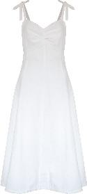 Jovonna London Zoran Midi Sun Dress - 2 Colour Options - XS | white - Black/White/White