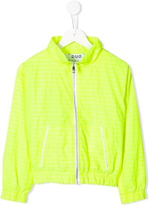 DUOltd stripe jogging jacket