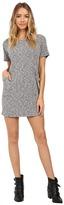 Culture Phit Kalani Short Sleeve Pocketed Ribbed Dress