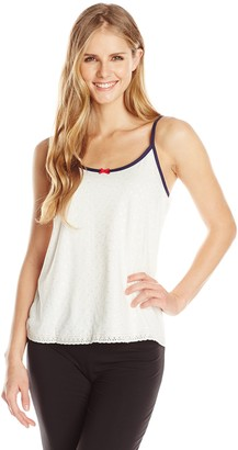 Tommy Hilfiger Women's Eyelet Camisole Pajama Top