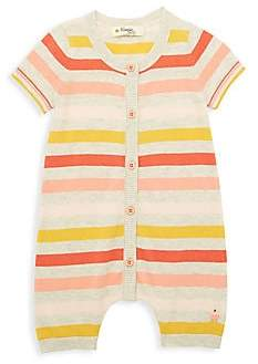 The Bonnie Mob Baby Girl's Lazy Hazy Summer Days Organic Cotton Knit Romper