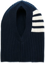 Thom Browne striped ribbed hat