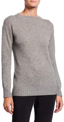 Prada Brushed Cashmere Crewneck Sweater