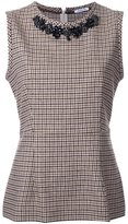 P.A.R.O.S.H. 'Adel' top - women - Cotton/Acrylic/Polyester/Wool - XS