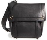 Jerome Dreyfuss 'Small Jeremie' Leather Crossbody Bag - Black