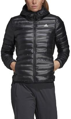 adidas Varilite Lightweight Hooded Padded Windbreaker with Pockets