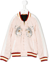 Chloé tiger patch bomber