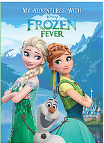 Disney Frozen Fever Personalizable Book - Large Paperback Format