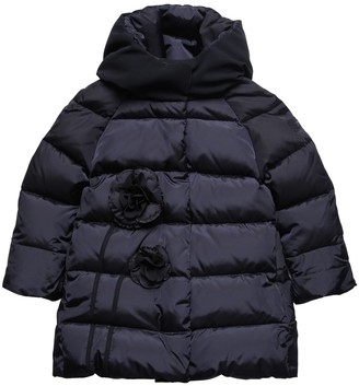 Il Gufo Hooded Nylon Down Coat