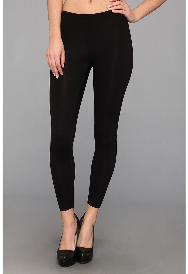 Three Dots Bloom Long Legging (Black) - Apparel