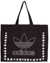 adidas New Womens Black Pharrell Williams Cotton Tote Bags