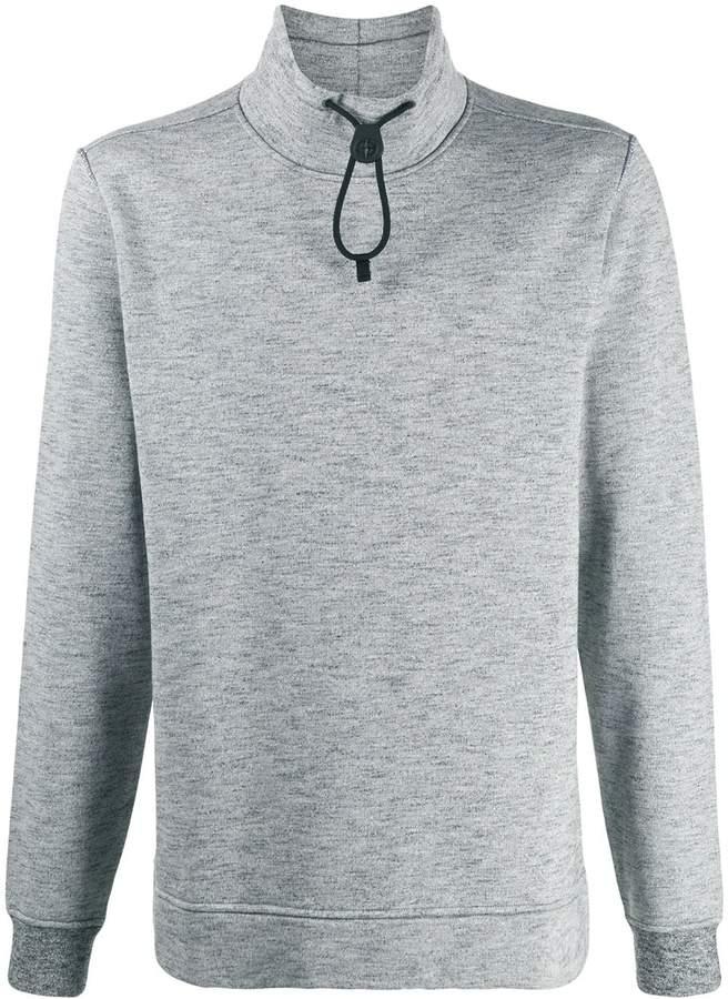 Stone Island high collar sweatshirt