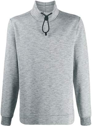 Stone Island high collar sweatshirt