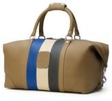 Ghurka Men's Cavalier I Leather Duffel Bag - Beige