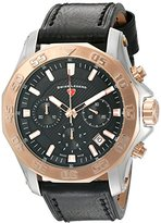 Swiss Legend Men's 16198SM-SR-01 Islander Analog Display Swiss Quartz Black Watch
