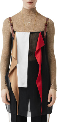 Burberry Silk Layering Halter Top