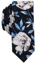 Original Penguin Men's Edgemont Floral Skinny Tie