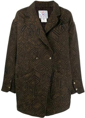 Fendi Pre Owned 1980's Tailored Coat