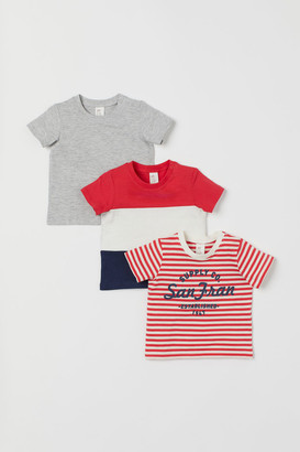 H&M 3-pack cotton jersey T-shirts