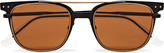 Bottega Veneta - Square-frame Metal Sunglasses